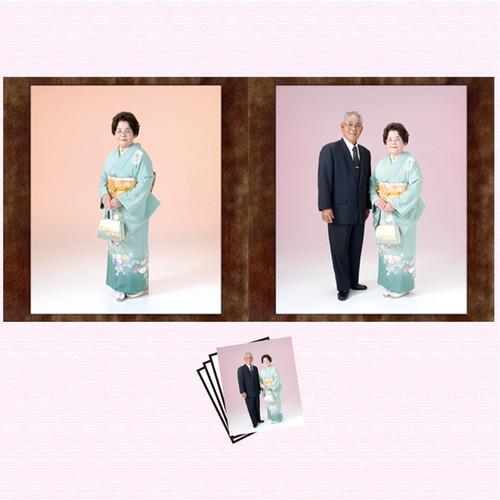 生年祝お一人様コース<br>(写真2ポーズ・衣装1点)<br>期間限定商品